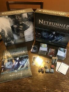 Android Netrunner The Card Game - Pre Owned - 100% Complete W/ Instruction Book