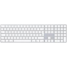 Apple Magic Keyboard mit Ziffernblock Silber