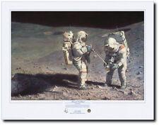 Moonrock-Earthbound A/P by Alan Bean - Apollo 16 - Space Art - Astronauts