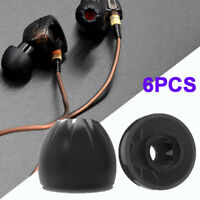 KZ In-ear Headphones Earplugs Silicone Eartips Earphone Sleeve Earbud Universal