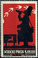 AUTRICHE SCHICHT PREIS AVRIL 1914 NEUF * AVEC CHARNIERE