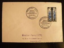 FRANCE PREMIER JOUR FDC YVERT 986   CENTRE D ETUDES ROMANES   30F  TOURNUS  1954