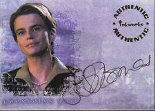 BUFFY REFLECTIONS AUTOGRAPH CARD A5 SERENA SCOTT THOMAS AS GWENDOLYN