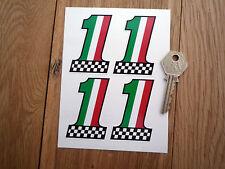 Italian No1 Sticker set. MV Guzzi Ducati Alfa Fiat etc