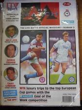 24/11/1991 Aston Villa V Leeds United [The ITV Match en direct, Official Magazine Pro