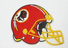 LOT OF (1) NFL WASHINGTON REDSKINS HELMET EMBROIDERED PATCH IRON-ON ITEM # 15