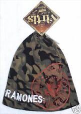 Ramones Classic Seal Img Camouflage Ski Hat Beanie New