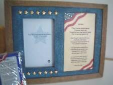 BOYDS AMERICANA FRAME/BOOKMARK SET- ALL AMERICAN HERO