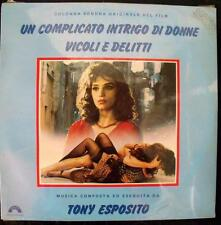 Toni Esposito COMPLICATO INTRIGO DI DONNE VICOLI E DELITTI vinile sigillato