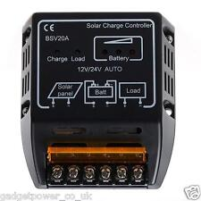 12V 24V 20A SOLAR CHARGE CONTROLLER BSV20A - COMPACT - EASY INSTALL