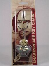 Harmony Kingdom / Ball Pot Bellys Key Chain Shakespeare #Pbkhsh New In Package