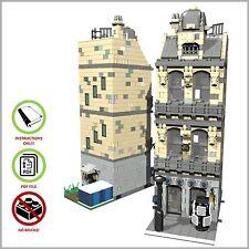 LEGO MOC Modular Book Store - CUSTOM Model - PDF Instructions Manual