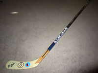 JOHNNY BUCYK Boston Bruins SIGNED Auto Hockey Stick COA Hall of Fame