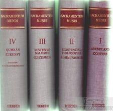 Sacramentum Mundi: Rahner, Karl und Adolf Darlap (Hrsg.)