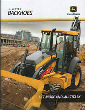 "John Deere ""L-Series"" Backhoe Loader Brochure Leaflet"