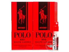 Perfume Vials (Trial Size) ~ Ralph Lauren Polo Red Intense 1.5ml EDP Spray x2