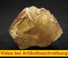 6104 Fluorite Fluorit 6*6*4 cm Grube Hermine 1980 Wölsendorf Bavaria BRD  VIDEO