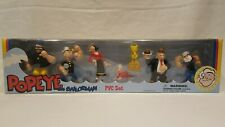 2002 Popeye The Sailorman 7 Pvc Set King Features Dark Horse Comics New In Box