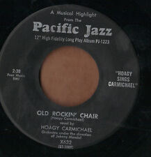 PACIFIC 50s jazz 45  HOAGY CARMICHAEL - Old Rockin' Chair + Ballad In Blue