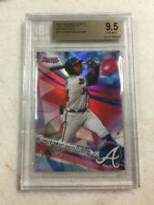 2017 Bowman's Best Ronald Acuna Refractor Rookie Card BGS 9.5 Braves