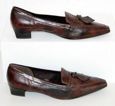 Gabor elegante Slipper Loafers Pumps Gr.40 (6,5) Echtleder Neuwertig