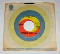 "Tennessee Ernie Ford 7"" 45 HEAR MOD POPCORN NORTHERN SOUL Sixteen Tons CAPITOL"