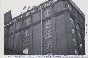 John F. Kennedy Assassination - Texas School Book Depository - Photos Photograph