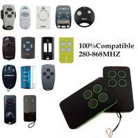 Universal Cloning Electric Gate Garage Door Remote Control Key Fob 280-868mhz