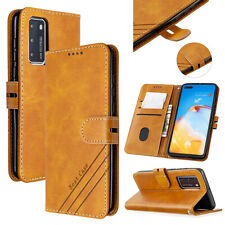 Magnetic Wallet Leather Flip Case Cover For Huawei P Smart 2020 Y5P Y6P Y7 2019