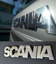 Emboss Mirror Polished Stainless Steel SCANIA R 2004-2009 Front Sign Badge Cover