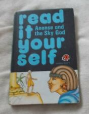 Ladybird Book - Read It Yourself - Ananse and the Sky God - Matt Cover