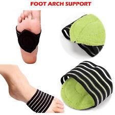 Foot Arch Support Plantar Fasciitis Feet Heel Pain Relief Shoe Flat Cushion Pads