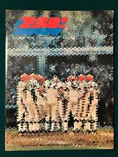 9/20/70 1970 MIAMI DOLPHINS vs NEW ENGLAND PATRIOTS NFL ORIGINAL GAME PROGRAM
