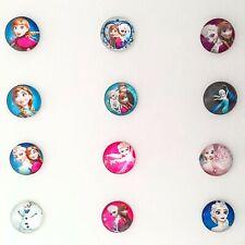 2x Disney Frozen cabochons 20mm glass domed flat back craft embellishments elsa