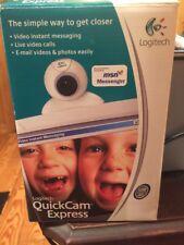 Logitech 961121-0403 Quick Cam Express Web Camera New