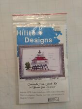 Vintage Hilite Designs Counted Cross Stitch Kit Drum Point Lighthouse