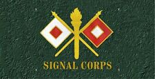 Signal Corps License Plate -LP 217