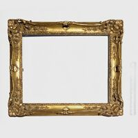 Hand Carved Wood Gold Gilt Picture Frame