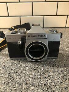 Praktica MTL 3 Film Camera  Pentacon 35mm f/1.8. Body Only W/Strap