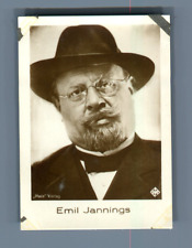 Emil Jannings, first actor recipient of Oscar Best Actor Category  Vintage silve