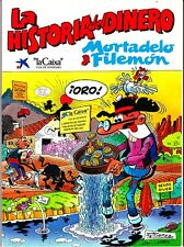 MORTADELO Y FILEMON :  LA HISTORIA DEL DINERO. EN  TAPA BLANDA. LA CAIXA
