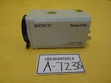 Sony DXC-970MD 3CCD Color Video Camera Power HAD Used Working