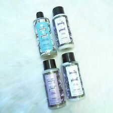 4 New Love Beauty & Planet Body Wash, Argan Oil & Lavender Conditioner Shampoo