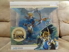 "NEW Legend of Zelda: Breath of the Wild Link 10"" PVC Painted Premium Statue"