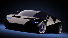 Ford Gt Design Model InspiredBy 1966 GT40 Sport Race Car 1 18 Carousel Black 24
