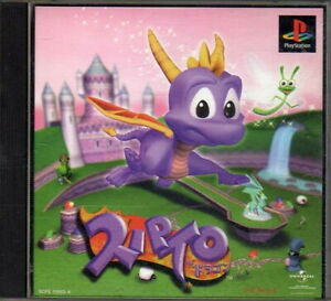 PS1 Spyro the Dragon Sony PlayStation Video Game Import JAPAN #SCPS-10083