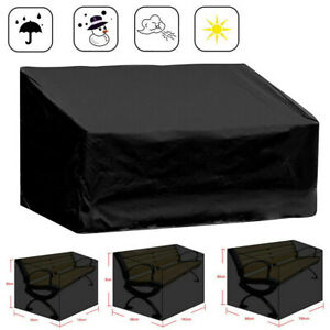 Waterproof Garden / Patio Furniture Covers Rattan Table Cube Seat Cover Outdoor