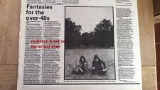JOHN LENNON Double Fantasy album review 1980 UK ARTICLE / clipping