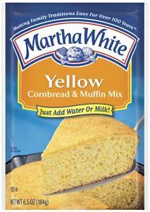 6Pk Martha White Yellow Cornbread & Muffin Mix ~* FAST FREE SHIPPING ! *~