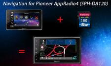 Navigation for Pioneer AppRadio 4 SPH-DA120 for North America SD Software error